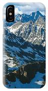 View Of Mountains, Table Mountain IPhone Case