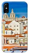 View Of Old Alfama IPhone Case