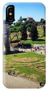 View Of The Arch Of Constantine From The Colosseum IPhone Case