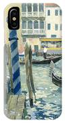 View Of The Grand Canal In Venice IPhone Case