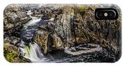 View Of The Great Falls IPhone Case