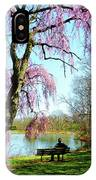View Of The Lake In Spring IPhone Case