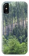 View Of The Mixed Forest IPhone Case