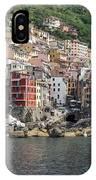 View Of The Riomaggiore, La Spezia IPhone Case