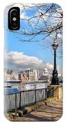 View Of The Thames IPhone Case