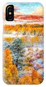 View Of Yosemite National Park IPhone Case