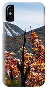 View On The Way Up Mt. Jo, Adirondacks IPhone Case