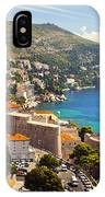 View Over Dubrovnik Coastline IPhone Case