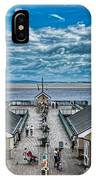 View Over The Pier IPhone Case