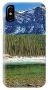 Views From Lake Louise Alberta  IPhone Case