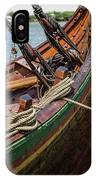 Viking Ship Rigging IPhone Case
