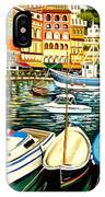 Villa Franche IPhone Case