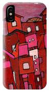 Village In Pink IPhone Case