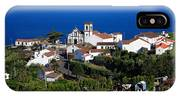 Village In The Azores IPhone Case
