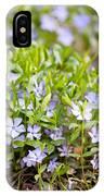 Vinca Violet Purple Clump IPhone Case
