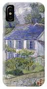 Vincent Van Gogh, Houses At Auvers IPhone X Case