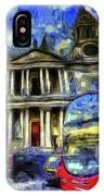 Vincent Van Gogh London IPhone Case