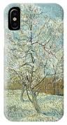 Vincent Van Gogh, The Pink Peach Tree IPhone X Case