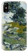 Vincent Van Gogh, The Rocks IPhone X Case