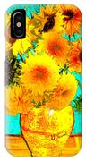 Vincent's Sunflowers 4 IPhone Case