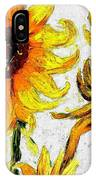 Vincent's Sunflowers  IPhone Case