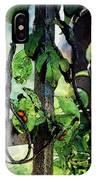 Vine And Trellis Digital Watercolor 4472 W_2 IPhone Case