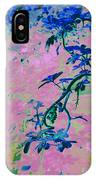 Vine Calligraphy IPhone Case