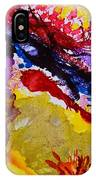 Vines And Glow Abstract IPhone Case