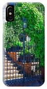 Vines Over Gate IPhone Case