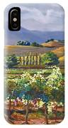 Vineyard In California IPhone Case