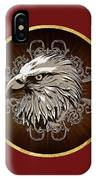 Vintage American Bald Eagle IPhone Case