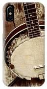 Vintage Banjo Barn Dance IPhone Case