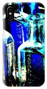 Vintage Bottles At A Flea Market Hard IPhone Case