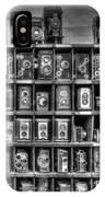 Vintage Camera Matrix IPhone Case