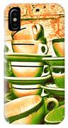 Vintage Cellar Tea Cups Painterly IPhone Case