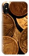 Vintage Coins IPhone Case