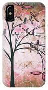 Vintage Couture By Madart IPhone Case