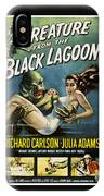Vintage Creature From The Black Lagoon Poster IPhone Case
