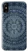 Vintage Denim Mandala IPhone Case