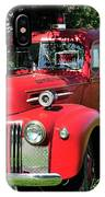 Vintage Fire Truck IPhone Case
