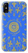 Vintage Fleur De Lis Pattern Design IPhone Case