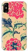 Vintage Flower Design IPhone Case
