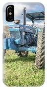Vintage Ford 7610 Farm Tractor IPhone X Case