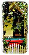 Vintage Garden Arbor Gate IPhone Case