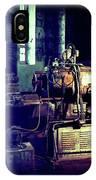 Vintage Industrial Blueprint IPhone Case