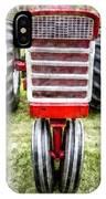 Vintage International Harvester Tractor IPhone Case