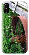 Vintage Irrigation Wagon IPhone Case