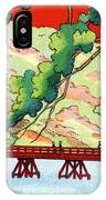 Vintage Japanese Art 6 IPhone Case
