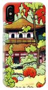 Vintage Japanese Art 7 IPhone Case