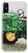 Vintage John Deere Tractor IPhone Case